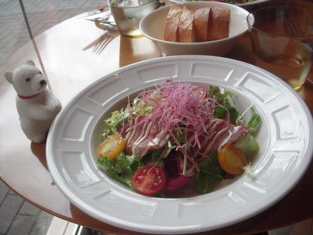 牛タン生ハムのサラダ仕立て