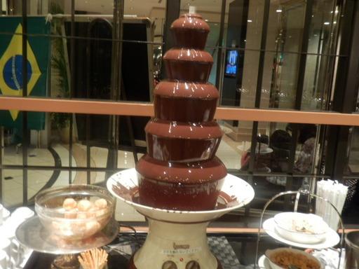 チョコレートファウンデン
