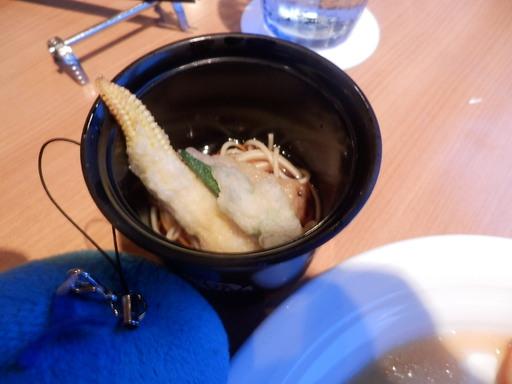 カッペリーニの和風仕立て 旬の野菜のてんぷら添え