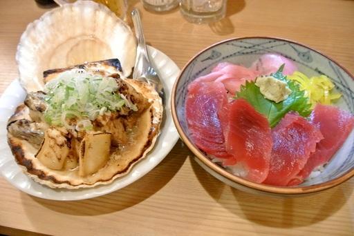 浜焼き海鮮丼