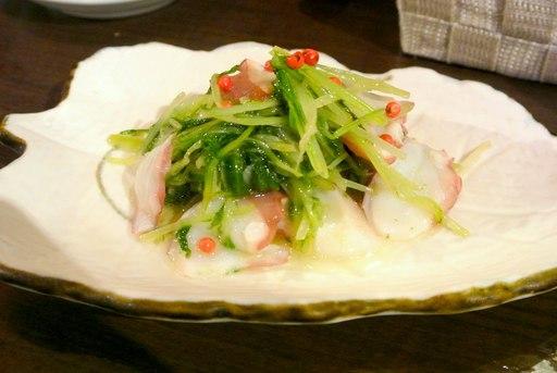 瀬戸内タコの柚子胡椒マリネ
