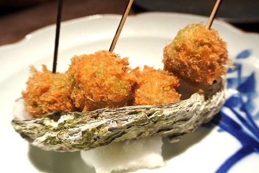 オリーブの牡蠣詰めフライ