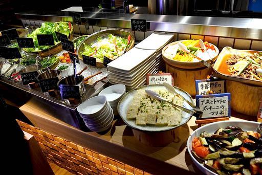 サラダと惣菜