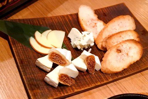チーズ3種盛り合わせ