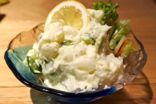 山葵風味のポテトサラダ
