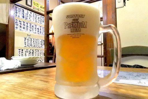でも最初の一杯は生ビール