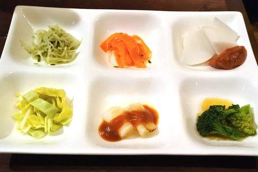 世田谷野菜6種盛り