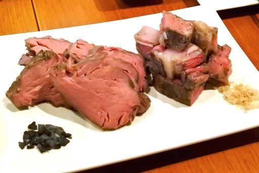 東京ビーフの肩ロース、ぽろしり牛のヒレ肉