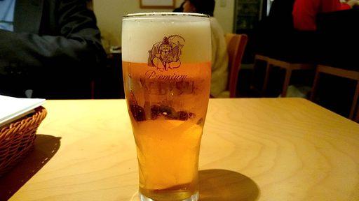 生ビールはエビス