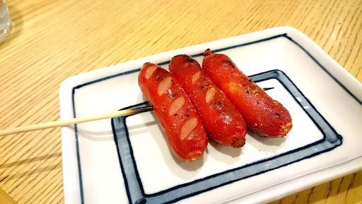 赤ウィンナー焼き