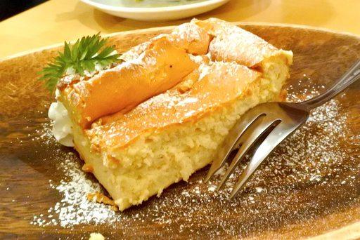 米粉のふわふわチーズケーキ