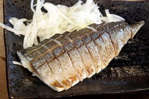 〆鯖大トロ炙り