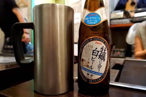 牡蠣と合う白ビール
