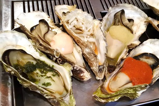 焼き牡蠣その1