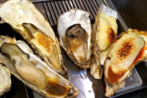 焼き牡蠣その2