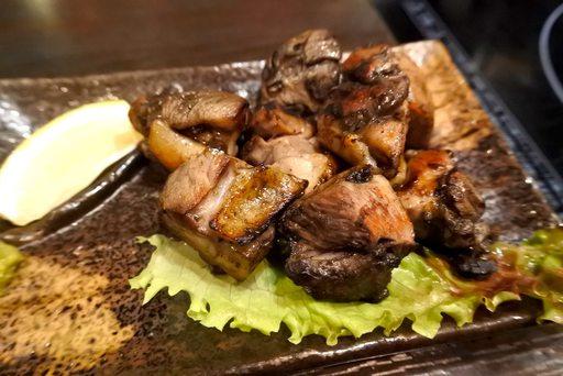 宮崎地鶏の炭焼き