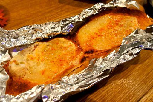 ハイジのラクレットトースト(バル辛ver.)