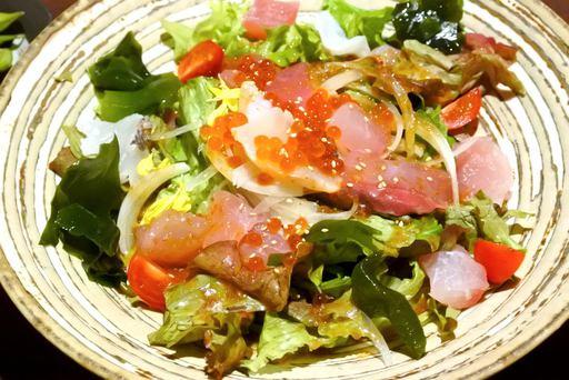 新鮮海鮮サラダ