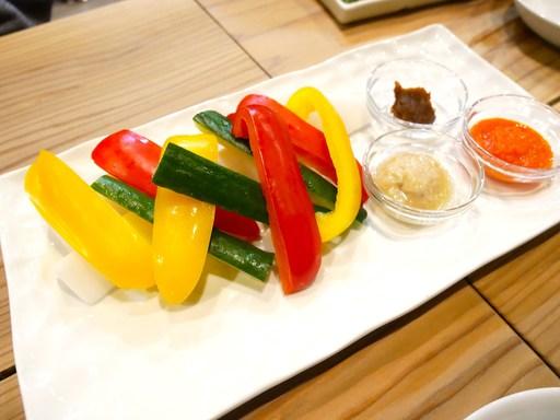 スティックサラダ 三種のソース