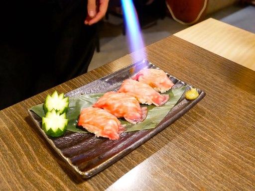 乙女牛の特撰肉寿司