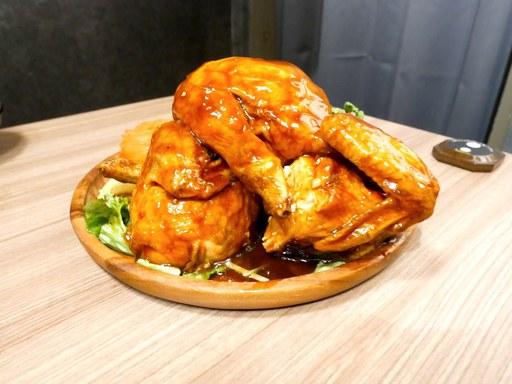 セレブ風 丸鶏の照り焼