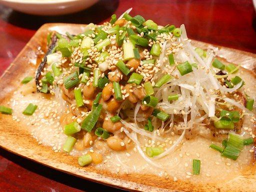 ネバネバ納豆餃子