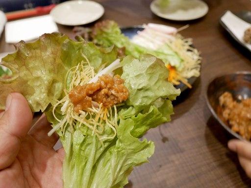 手巻きサラダ