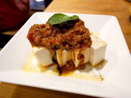 冷製エスニック麻婆豆腐
