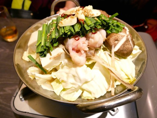 モツ鍋(味噌)