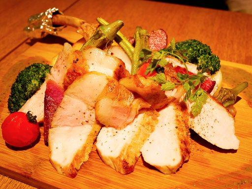 宮崎まるみ豚ステーキ