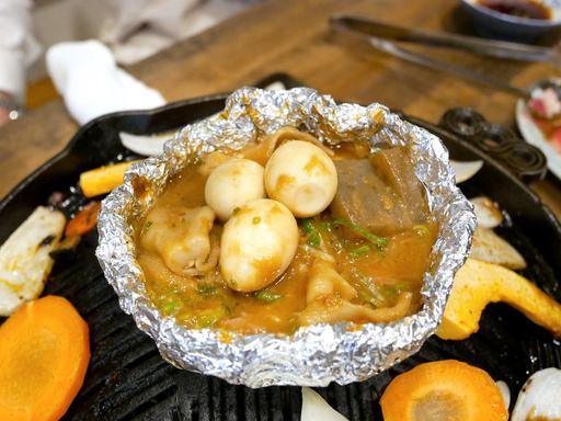 ラム肉の味噌煮込み