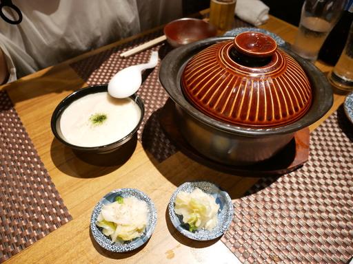 土鍋麦飯ごはん(とろろ付き)