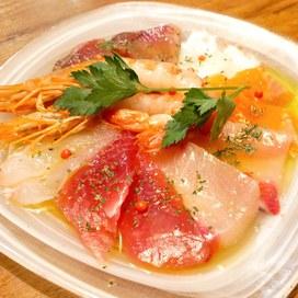 天然鮮魚のカルパッチョ