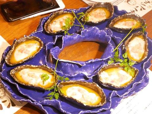 生牡蠣のマリナード