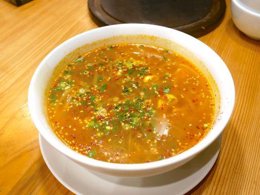 青唐辛子のスープ(辛さ増量)