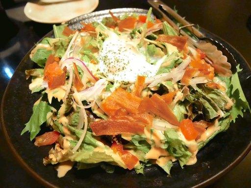 九州恵みの明太シーザーサラダ