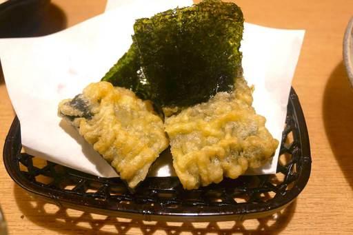 かに味噌の天ぷら