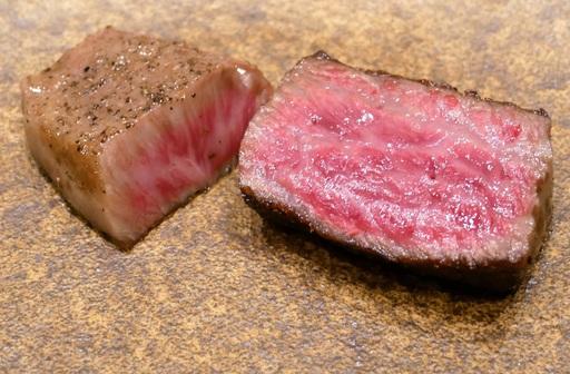 紀州備長炭 和牛の炭焼き