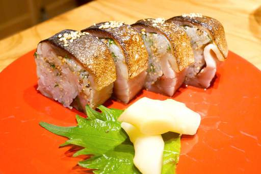金華鯖の棒寿司