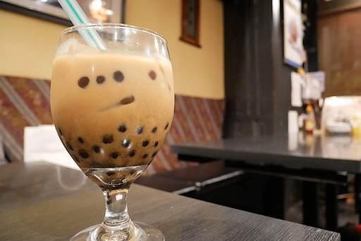タピオカアイスコーヒー