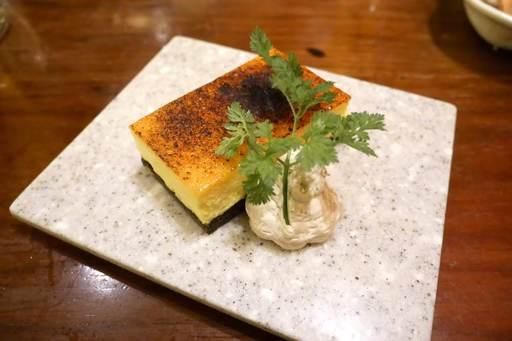 安納芋のチーズブリュレ