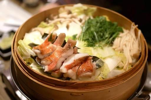 金目鯛と鮮魚のせいろ蒸鍋 ~鮮魚を含めた絶品せいろ鍋~