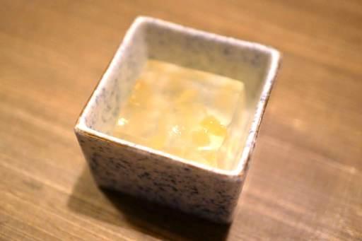 桃の金玉羹