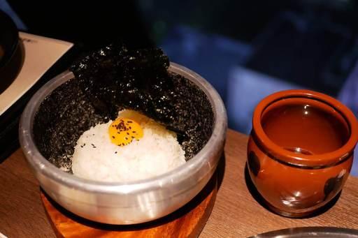 カンジャンケジャン〆の石焼カニ味噌ビビンバ