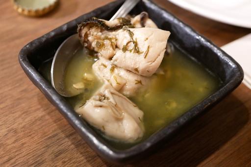 牡蠣コンフィ レモンマリネ