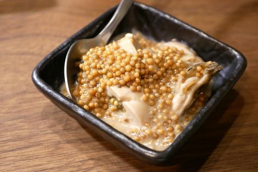 タスマニア産牡蠣マスタード