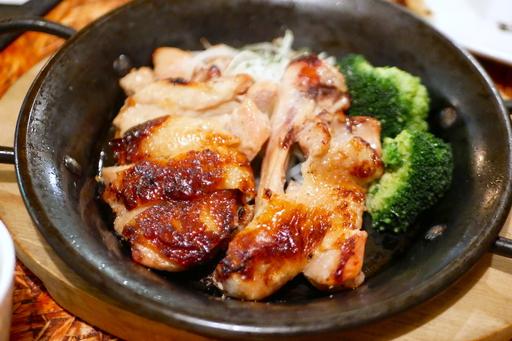 鶏モモの塩麹焼き