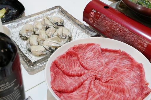 牡蠣肉野菜
