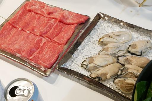 さらに牡蠣肉