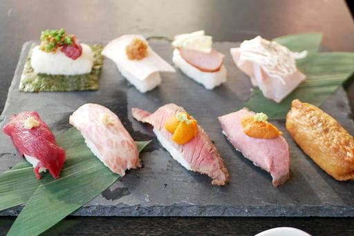 特選肉寿司9貫盛り合わせ